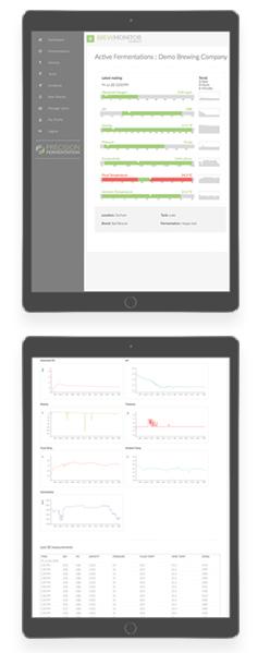 BrewMonitor Console - Fermentation Monitor