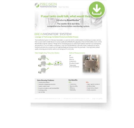 Precision Fermentation - Monitoring for Breweries - Data Sheet